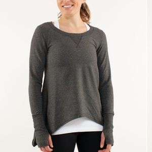 Lululemon | Tea Lounge Pullover Heathered Coal